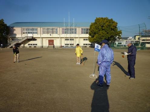 01/09…「グランドゴルフ大会」_e0310464_5492018.jpg