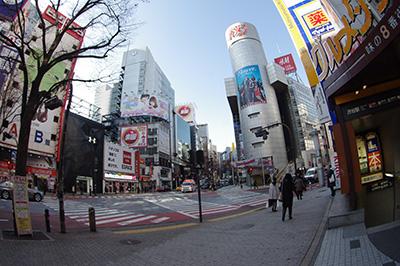 1月21日(火)の渋谷109前交差点_b0056983_1340611.jpg