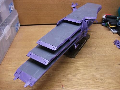 1/1000 ガイペロン級多層式航宙母艦(ランベア)_f0205396_12403167.jpg