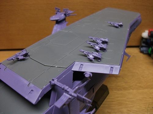 1/1000 ガイペロン級多層式航宙母艦(ランベア)_f0205396_1244468.jpg