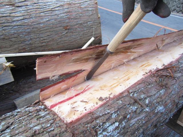 杉の皮剥ぎ_b0223199_20552730.jpg