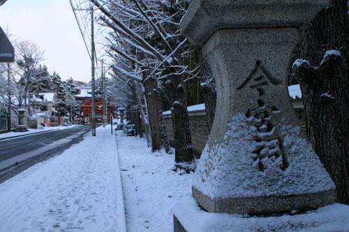今宮神社 14雪けしき4_e0048413_21195071.jpg