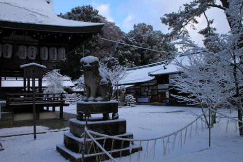 今宮神社 14雪けしき4_e0048413_21202811.jpg