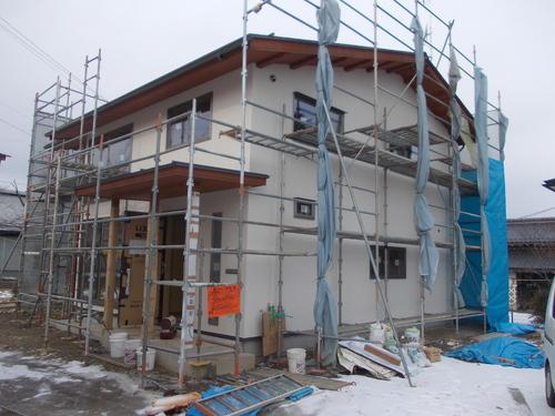 豊科Y邸外壁塗り終わりました。_c0218716_8131654.jpg