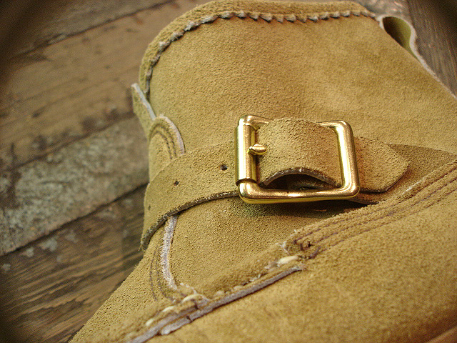 "NEW : RUSSELL MOCCASIN CO.[Premier Walking] & [Knock-A-Bout Boot with Strap] ""Laramie Suede\"" !!_a0132147_22483271.jpg"
