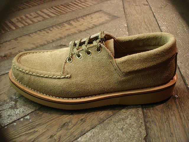 "NEW : RUSSELL MOCCASIN CO.[Premier Walking] & [Knock-A-Bout Boot with Strap] ""Laramie Suede\"" !!_a0132147_22512277.jpg"
