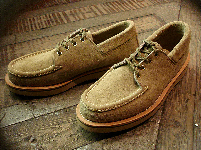 "NEW : RUSSELL MOCCASIN CO.[Premier Walking] & [Knock-A-Bout Boot with Strap] ""Laramie Suede\"" !!_a0132147_22514926.jpg"