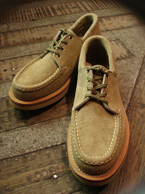 "NEW : RUSSELL MOCCASIN CO.[Premier Walking] & [Knock-A-Bout Boot with Strap] ""Laramie Suede\"" !!_a0132147_2252588.jpg"