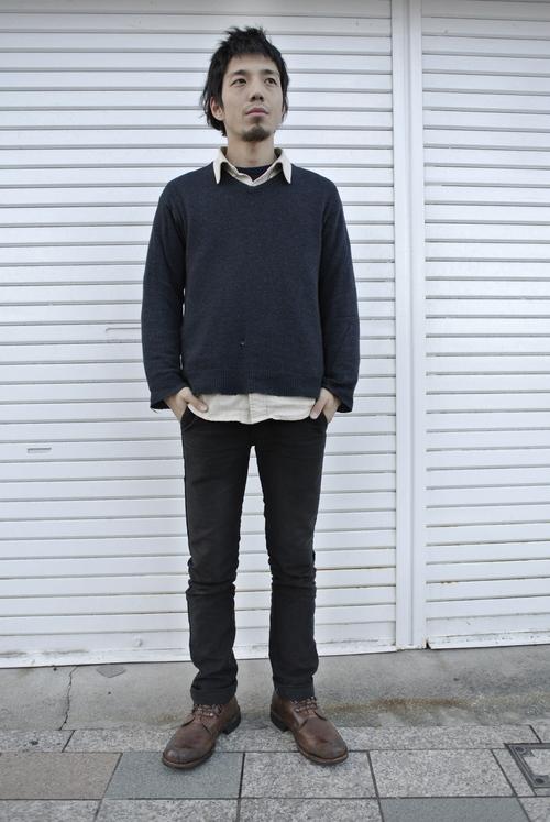 Cashmere knit snap_f0226051_22122779.jpg