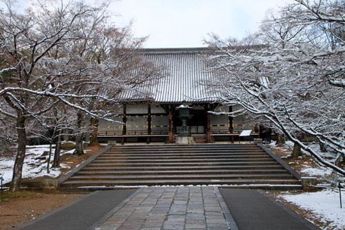 仁和寺 14雪景色5_e0048413_19111466.jpg