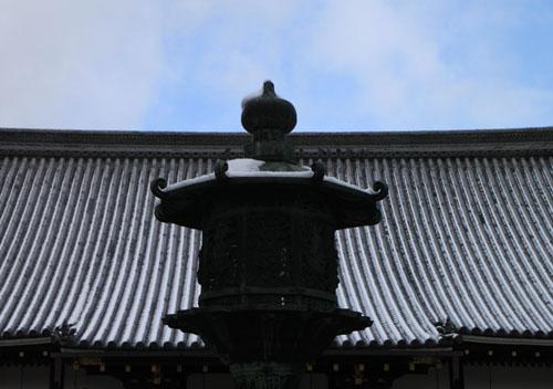 仁和寺 14雪景色5_e0048413_19113237.jpg