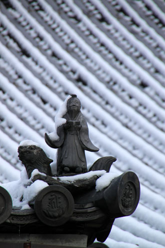 仁和寺 14雪景色5_e0048413_19114427.jpg