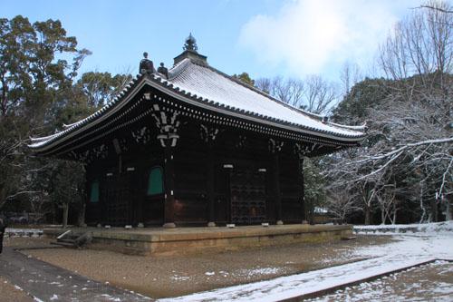仁和寺 14雪景色5_e0048413_19115619.jpg