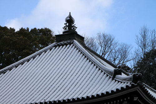 仁和寺 14雪景色5_e0048413_1912235.jpg