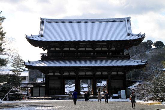 仁和寺 14雪景色5_e0048413_197646.jpg