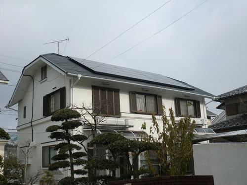 佐伯区 K様邸太陽光発電&屋根塗装_d0125228_8434453.jpg