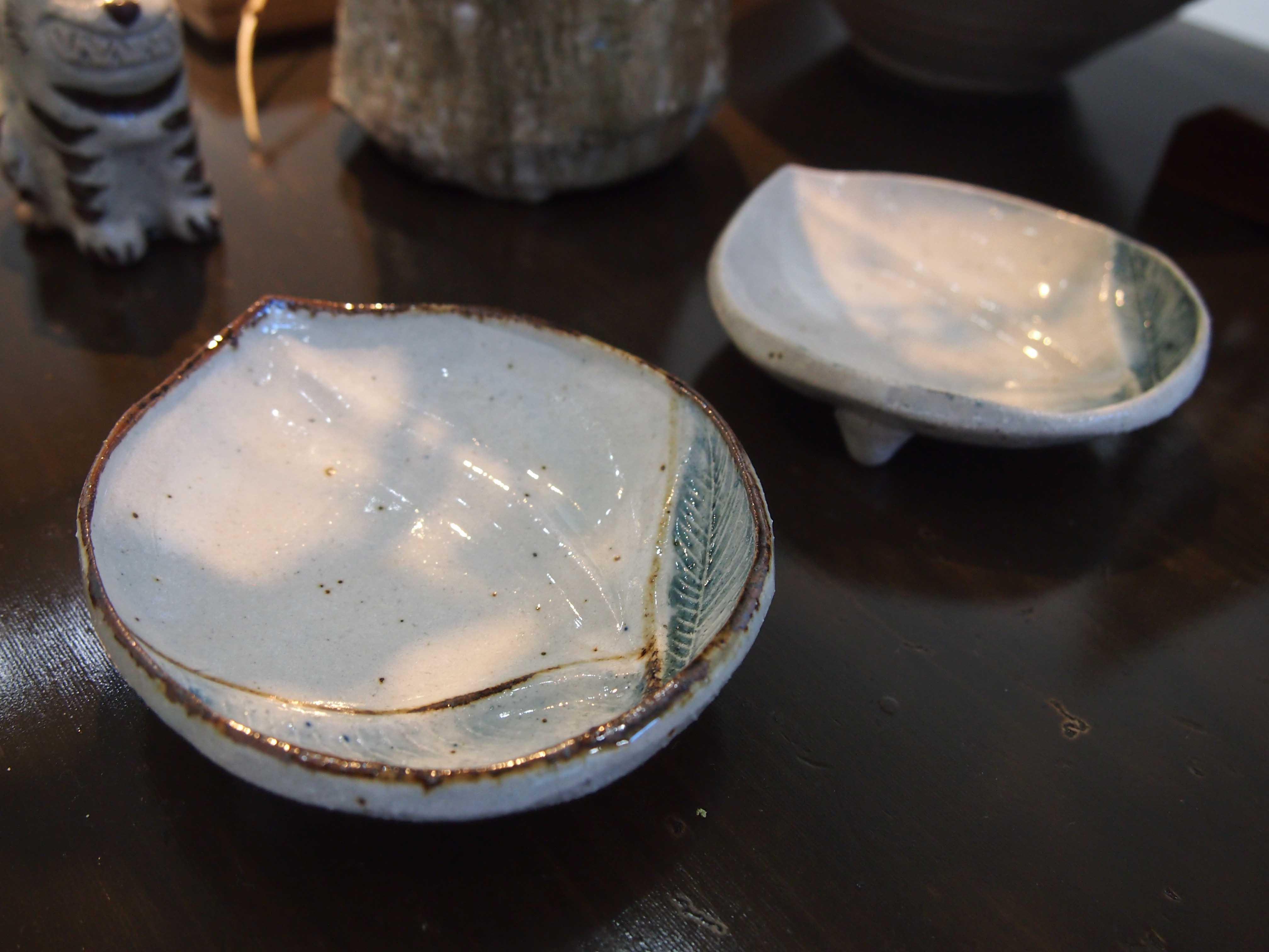 須賀文子作陶展「春の隣」@2日目_e0272050_16524365.jpg