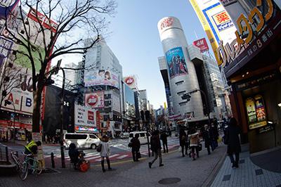 1月23日(木)の渋谷109前交差点_b0056983_1119592.jpg