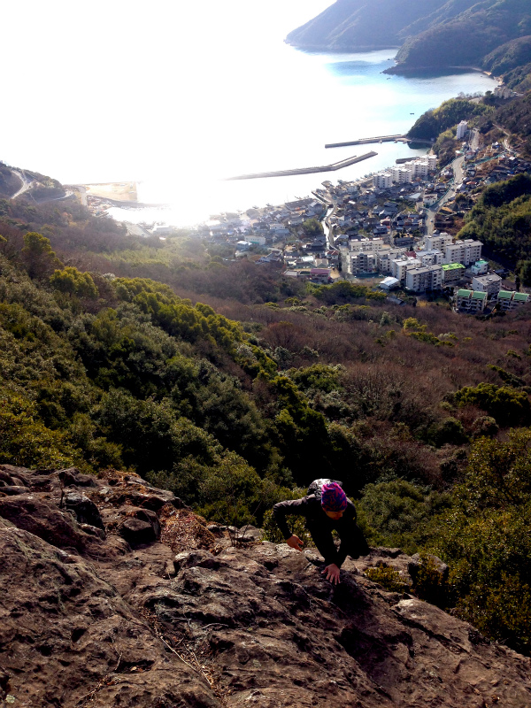 2014/01/16 Scrambling and Mountain Running in Shodoshima 小豆島_b0220886_15205080.jpg