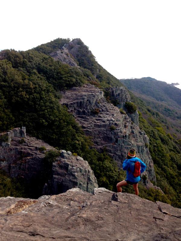 2014/01/16 Scrambling and Mountain Running in Shodoshima 小豆島_b0220886_15233635.jpg