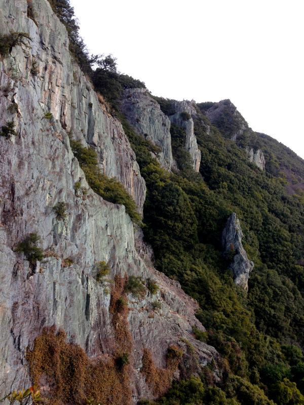 2014/01/16 Scrambling and Mountain Running in Shodoshima 小豆島_b0220886_1524161.jpg