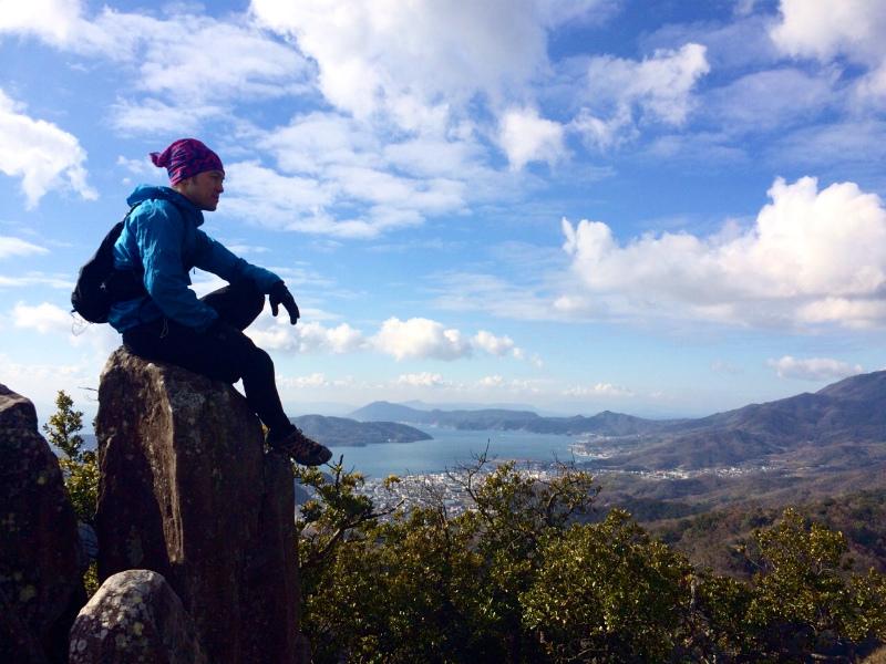 2014/01/16 Scrambling and Mountain Running in Shodoshima 小豆島_b0220886_15263132.jpg