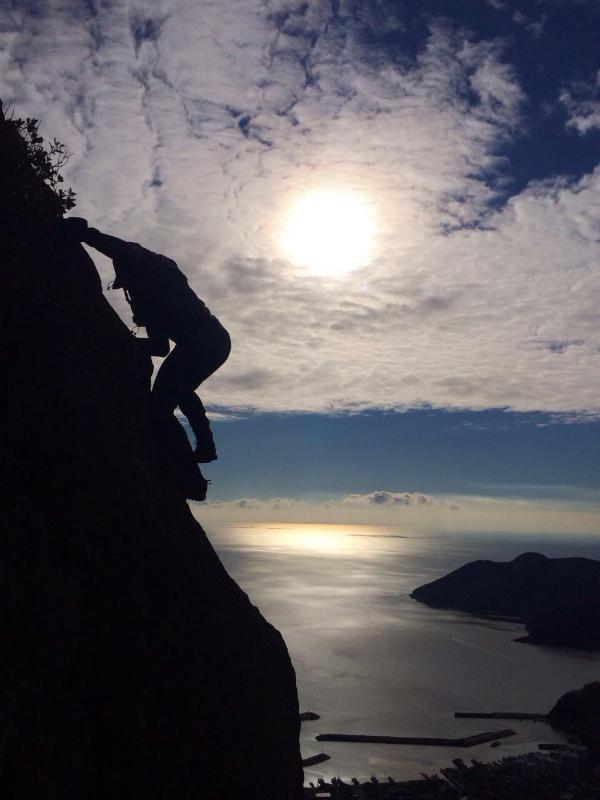 2014/01/16 Scrambling and Mountain Running in Shodoshima 小豆島_b0220886_15271382.jpg