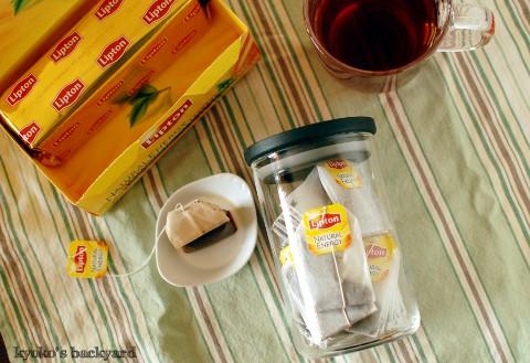 チーズケーキとリプトンの紅茶_b0253205_2474931.jpg