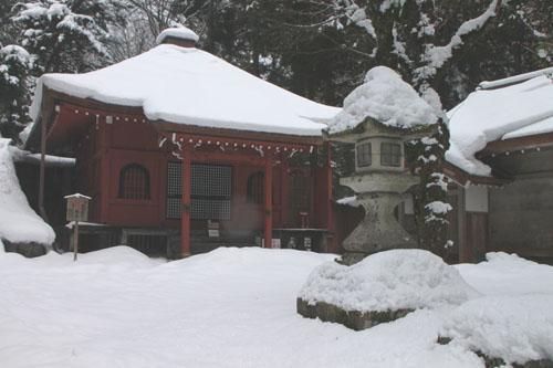 坊村 明王院 14雪けしき7_e0048413_20333383.jpg