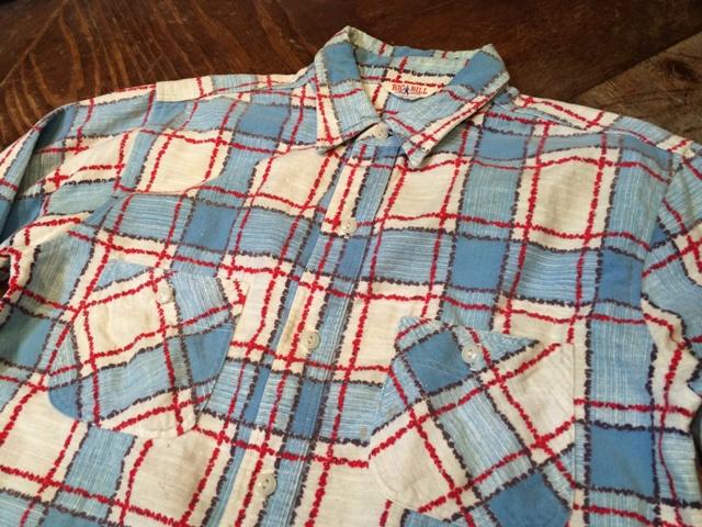 1/25(土)入荷!50年代 BIG BILL プリントネルシャツ!_c0144020_16551239.jpg
