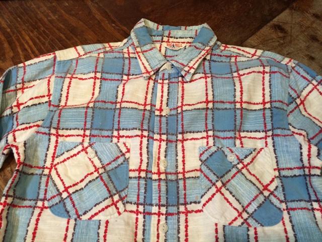 1/25(土)入荷!50年代 BIG BILL プリントネルシャツ!_c0144020_16560456.jpg