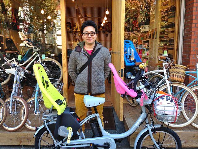 リピトの『バイシクルファミリー』Yepp ビッケ2e ハイディ bikke ママチャリ おしゃれ自転車 mama_b0212032_20204742.jpg