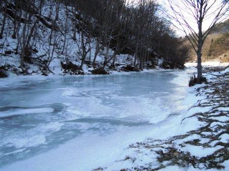 イワナが好き、でも川が凍ってしまったら?_b0206037_1639384.jpg