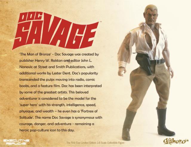 Go Heroの1/6を順番に紹介していく/その2、Doc Savage_a0077842_23504533.jpg