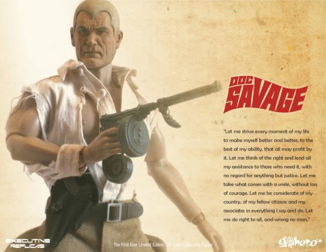 Go Heroの1/6を順番に紹介していく/その2、Doc Savage_a0077842_2352046.jpg