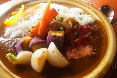 ☆季節野菜のカレー☆_b0207642_114321100.jpg