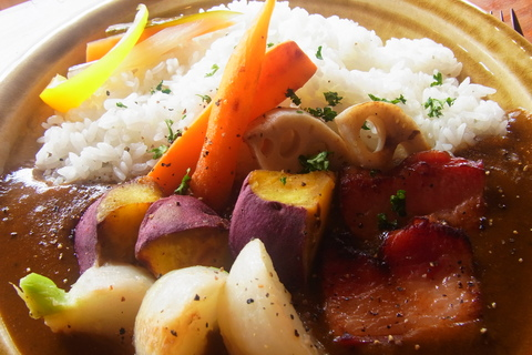 ☆季節野菜のカレー☆_b0207642_11471526.jpg