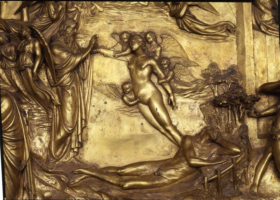 24/01/2014  サン・ジョヴァンニ洗礼堂:天国の扉 アダムとエヴァ_a0136671_06281861.jpg