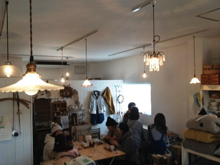 本日の oneday cafe。_a0164280_1946279.jpg