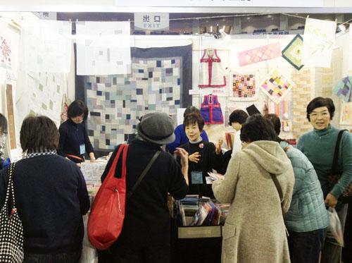 東京国際キルトフェスティバルに参加中です_c0185092_1120866.jpg