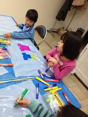 阿倍野教室 凧づくり_f0215199_11391087.jpg