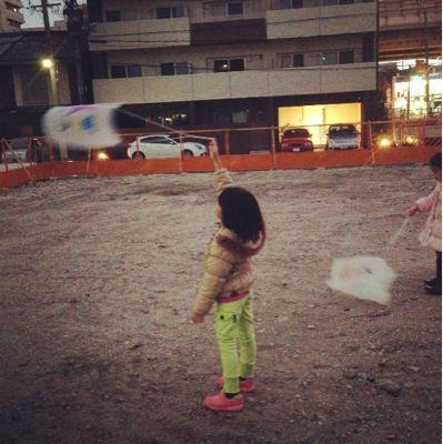 阿倍野教室 凧づくり_f0215199_11391986.jpg