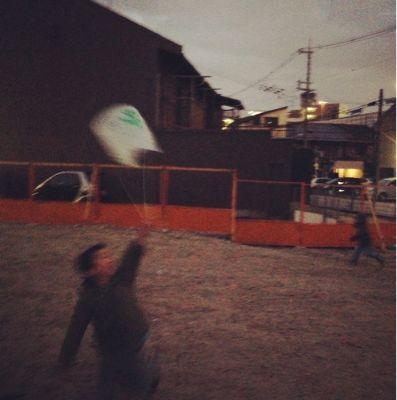 阿倍野教室 凧づくり_f0215199_11392210.jpg