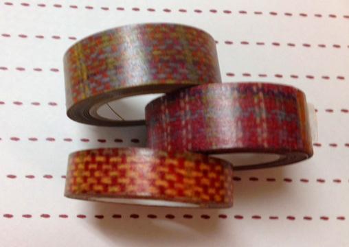 ともみさんのさをり織りの柄がマスキングテープになりました♪_c0183102_1695862.jpg