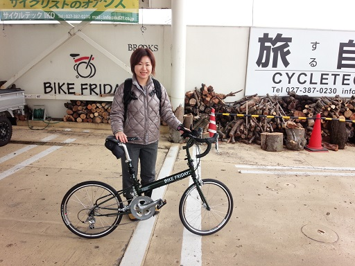 納車 Bike Friday_d0147944_1471959.jpg