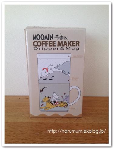 ムーミンのお一人様コーヒーメーカー_d0291758_21524323.jpg