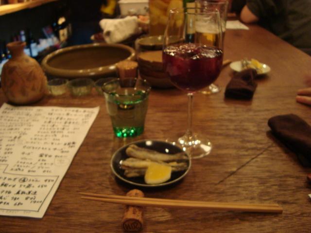 新井薬師「ワインとお惣菜 青花」へ行く。_f0232060_16352279.jpg
