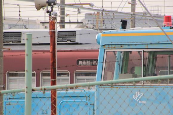 阪急正雀レポ 阪急1300F 堺トラム_d0202264_2345610.jpg