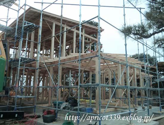 【家づくり】 建て方 上棟式_c0293787_22544299.jpg