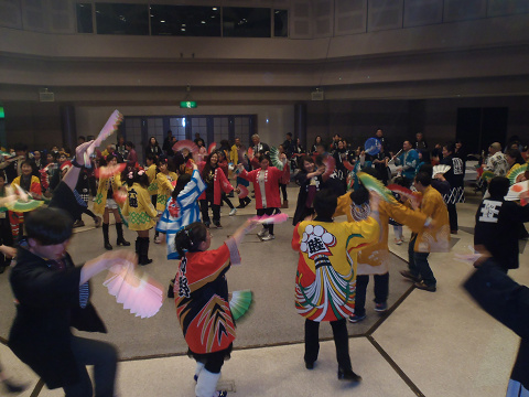 すずめ踊り連盟、新年会_b0074601_23364535.jpg